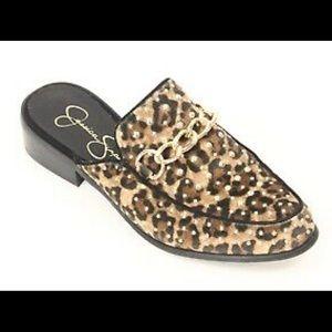 Jessica Simpson Beez leopard mule